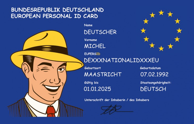 EUREGEX demands to give every EU citizen a unique identity!